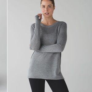 Lululemon open back sweatshirt